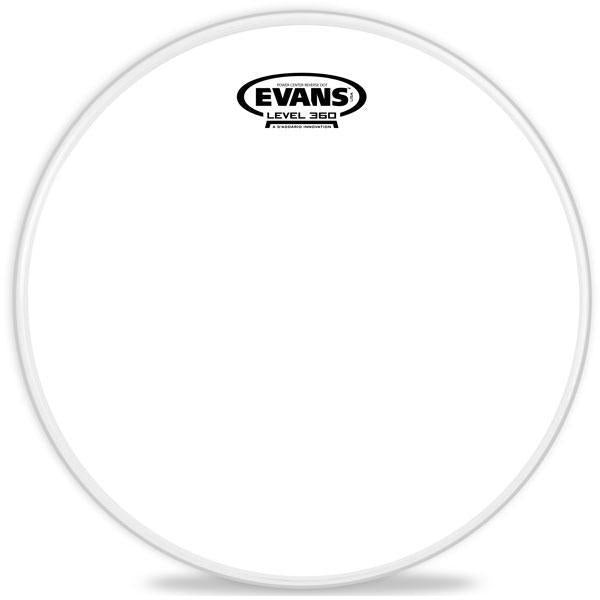 "Evans Drum head - 14"" Power Center Reverse Dot Snare Batter"