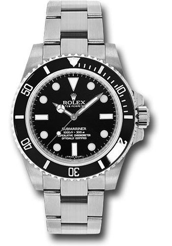 Rolex Oyster Perpetual Submariner No DATE Mens Watch 114060