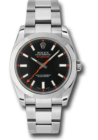 Rolex Milgauss 40mm Mens Watch 116400 Black