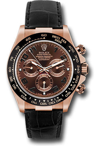 Rolex Cosmograph Daytona Everose Gold Mens Watch 116515LN Chocolate