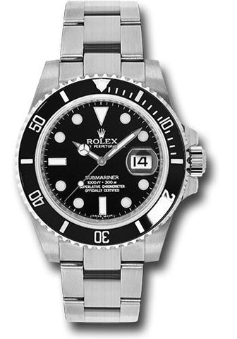 Rolex Oyster Perpetual Submariner Date Mens Watch 116610LN