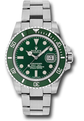 Rolex Oyster Perpetual Submariner Date Mens Watch 116610LV