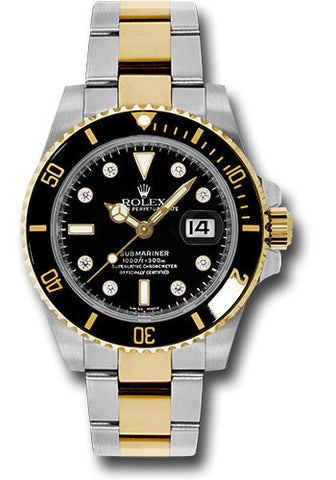 Rolex Oyster Perpetual Submariner Date Rolesor 116613 bkd