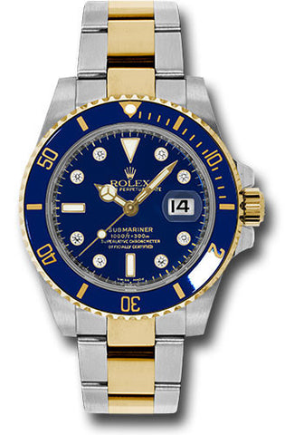 Rolex Oyster Perpetual Submariner Date Rolesor 116613 bld