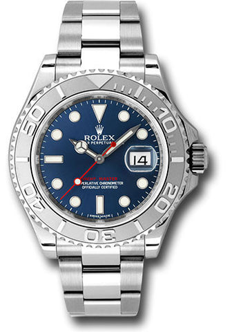 Rolex Yacht-Master 40mm Mens Watch 116622 Blue
