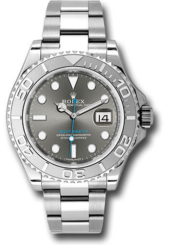 Rolex Yacht-Master 40mm Mens Watch 116622 Dark Rhodium