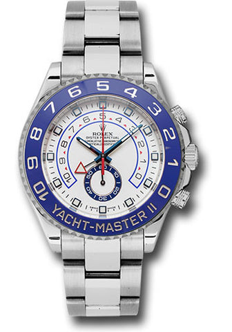 Rolex Yacht-Master II 44mm Mens Watch 116680 White