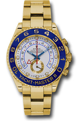 Rolex Yacht-Master II 44mm Mens Watch 116688 White