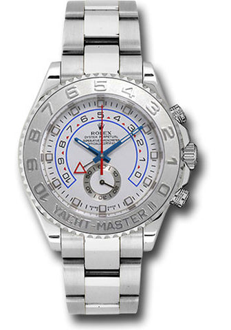 Rolex Yacht-Master II 44mm Mens Watch 116689 White