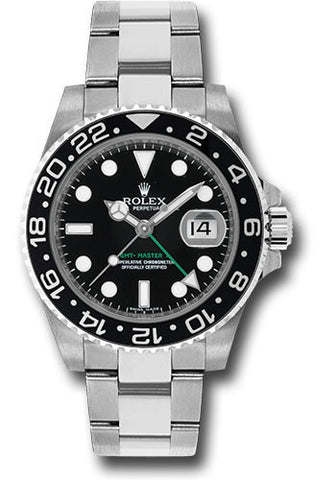 Rolex GMT Master II Mens Watch 116710LN Black