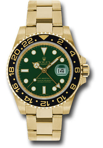 Rolex GMT Master II Mens Watch 116718LN Green