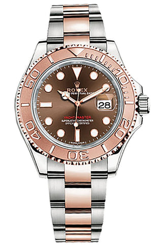 Rolex Yacht-Master 40mm Mens Watch 116621 Chocolate