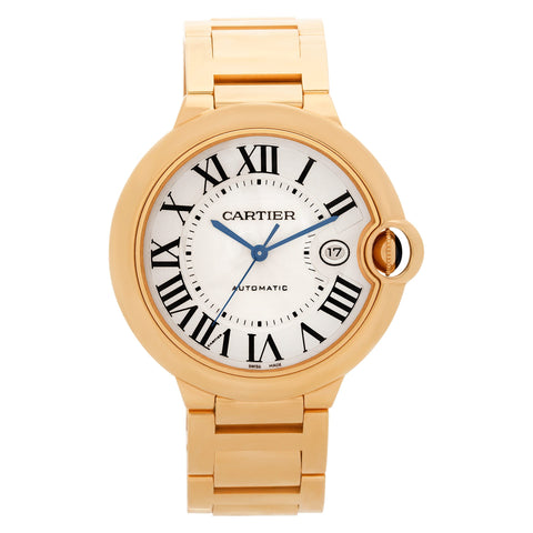 Cartier Ballon Bleu 42mm Mens Watch w69005z2