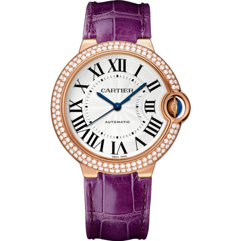 Cartier Ballon Bleu 36mm Ladies Watch WJBB0009