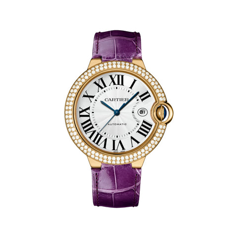 Cartier Ballon Bleu 42mm Midsize Watch wjbb0031