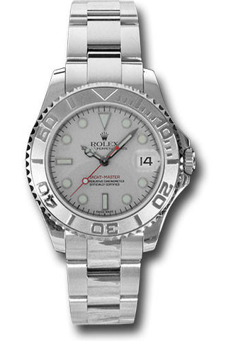 Rolex Yacht-Master 35mm Ladies Watch 168622 Platinum