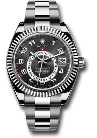 Rolex Sky Dweller 42mm Mens Watch 326939 Black Arabic
