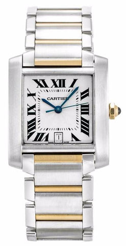 Cartier Tank Francaise Large Mens Watch w51005q4