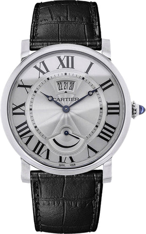 Cartier Rotonde de Cartier Calendar Power Reserve Mens Watch w1556369