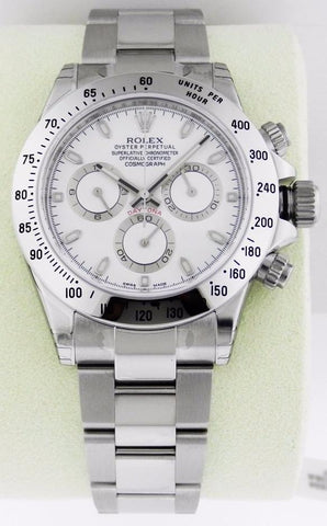 PRE-OWNED Rolex Oyster Perpetual Cosmograph Daytona Watches 116520