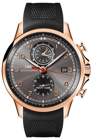 IWC Portuguese Yacht Club Chronograph 45.4mm Mens Watch IW390209