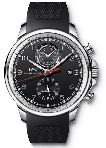 IWC Portuguese Yacht Club Chronograph 45.4mm Mens Watch IW390210