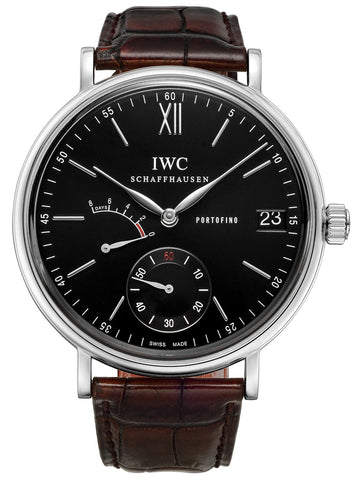 IWC Portofino Hand Wound Eight Days 45mm Mens Watch iw510102