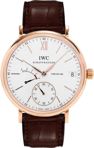IWC Portofino Hand Wound Eight Days 45mm Mens Watch iw510107