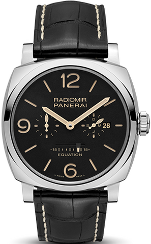 Panerai Radiomir 1940 Equation of Time 8 Days Acciaio Limited Edition of 200 PAM00516