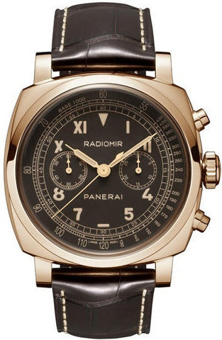 Panerai Radiomir 1940 Chronograph Oro Rosso Limited Edition of 100 PAM00519