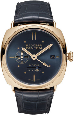 Panerai Radiomir 8 Days GMT Oro Rosso Limited Edition of 300 PAM00538