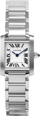 Cartier Tank Francaise Small Ladies Watch w51008q3