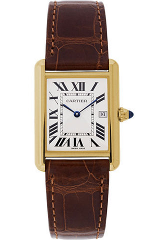Cartier Tank Louis Cartier Mens Watch w1529756
