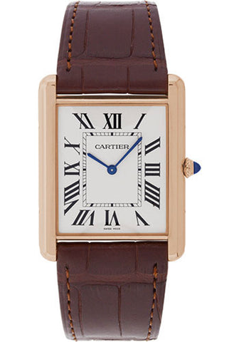 Cartier Tank Louis Cartier Mens Watch w1560017