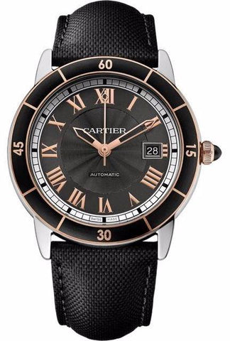 Cartier Ronde Croisiere De Cartier Mens Watch w2rn0005