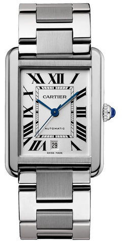 Cartier Tank Solo Automatic Extra Large Mens Watch W5200028