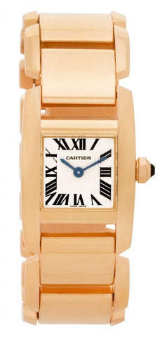 Cartier Tankissime Ladies Watch w650018h