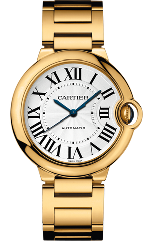 Cartier Ballon Bleu 42mm Mens Watch w69006z2