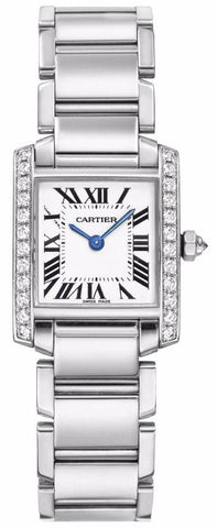 Cartier Tank Francaise Small Ladies Watch we1002s3