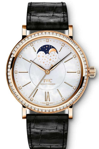 IWC Portofino Midsize Automatic Moonphase 37mm Ladies Watch iw459002