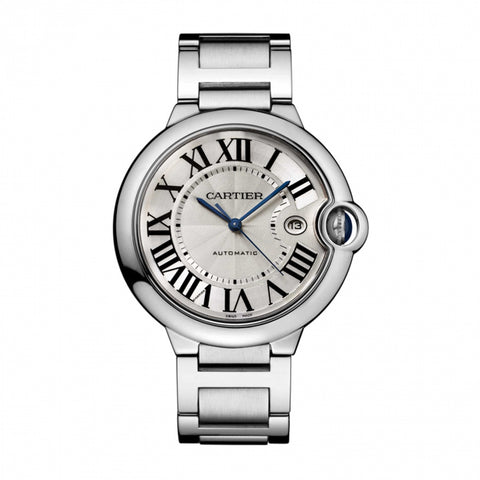 Cartier Ballon Bleu 42mm Mens Watch w69012Z4