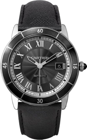 Cartier Ronde Croisiere De Cartier Mens Watch wsrn0003