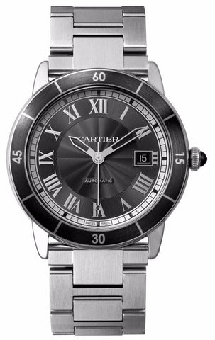 Cartier Ronde Croisiere De Cartier Mens Watch wsrn0011