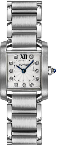 Cartier Tank Francaise Small Ladies Watch we110006