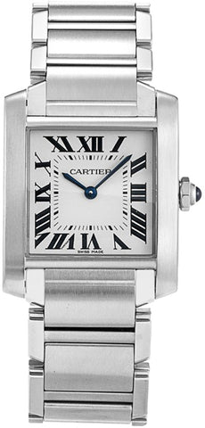 Cartier Tank Francaise Medium Midsize Watch wsta0005