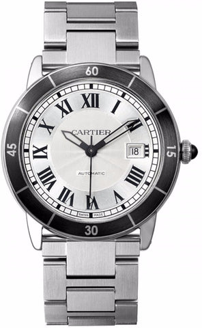 Cartier Ronde Croisiere De Cartier Mens Watch wsrn0010