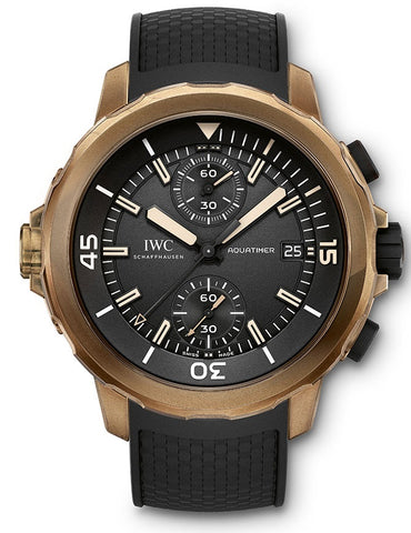 IWC Aquatimer Chronograph Edition Expedition Charles Darwin Mens Watch iw379503