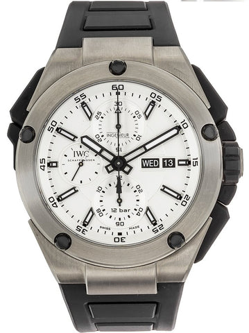 IWC Ingenieur Double Chronograph 45mm Mens Watch iw386501