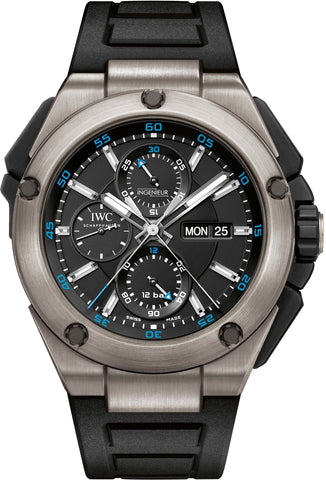 IWC Ingenieur Double Chronograph 45mm Mens Watch iw386503