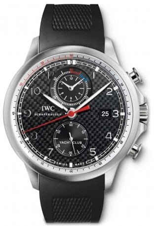 IWC Portuguese Yacht Club Chronograph 45.4mm Mens Watch IW390212